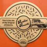 Duckin' Donut original location (since 1950) notice outside.