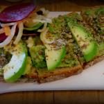 Avocado on bread