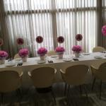 Comunion en el Restaurante Foment
