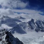 Gletsjer Pitztal hoogste café/brasserie van Oostenrijk