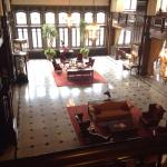 The lobby from the second floor.