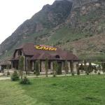 Кафе Караван расположено в живописнейшем месте Верхняя Балкария