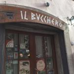Entrance to Il Bucchero.