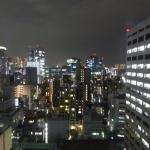 Night view from room 1525