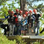 Zip Line Canopy Tours are a great way to enjoy a day together outdoors!
