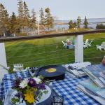 I attended a private party with an outdoor DJ.