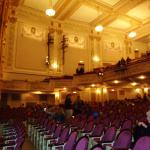 Inside the State Theater.
