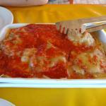 File à Parmegiana (com spaghetti)