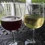 Blueberry Soda and an award winning Viognier