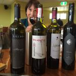 Regional wines at this amazing lunchen