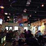 Bar at Fiddlers Green next to Hampton in Billings