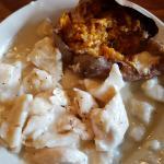 Chicken and Dumplings with Sweet Potatoe