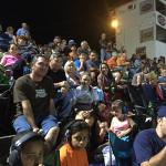 Family and Friends watching and supporting Dwayne Banks #4 and Rick Pannell #33 at Kingsport.