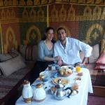 Dining at the Riad Zehar was always a wonderful experience whether we were enjoying a delicious