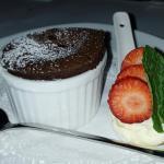 Lamb, beef cheeks, Belgian chocolate pudding, raspberry almond frangipane, chicken breast......