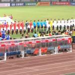 China vs Ecuador, October 2014. China wins!