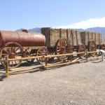 20 Mule Train, Harmony Borax Works, Death Valley, California, USA.