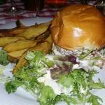 Burger chèvre