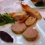 L'assiette de foie gras