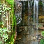 large waterfall grotto