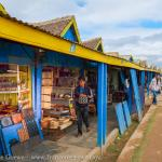rows of vendors