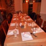 Beautiful set up for our guests