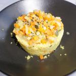 Cuscús al curry con verduras, muy sabroso