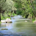 Walking along the river in the Ihlara Valley
