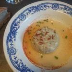 Petit pâté de bulots, beurre blanc au vinaigre de cidre