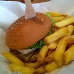 Veggie Burger Chevre