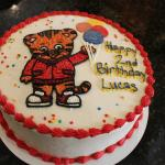 Son's 2nd birthda cake: Daniel Tiger