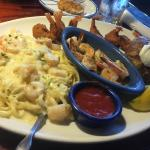 Red Lobster always has great food and lemonade.