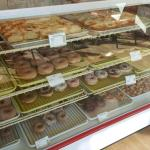 Large selection of donuts