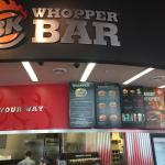 Foto de Burger King Whopper Bar