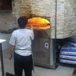 Real stone oven