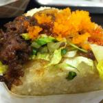 KoJa Kitchen Beef KoJa with masago added from another order