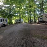 The campground is quite scenic as private campgrounds go.