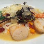 Atlantic Fish Company Shrimp and Scallop Risotto