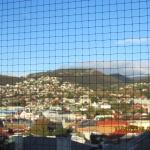 View towards Sandy Bay from fixed bedroom window