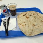Sharwarma mit Brot