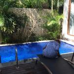 Our pool in Villa