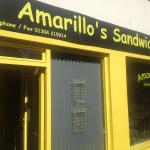 amarillos sandwich bar