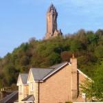 Wallace Monument fro The Old Tram House