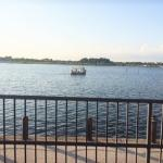 View from Gator's outdoor dining deck