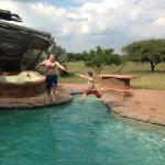 pool at Lodge