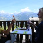 View balcony Hotel Surselva