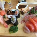Sushi (mix van verschillende sushi)