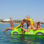 Pedal boat for rent!