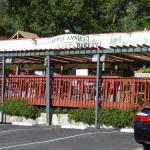 Apple Annies has both outdoor and inside dining