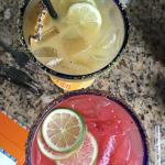 Grilled Pineapple and Watermelon Jalapeno Margaritas.